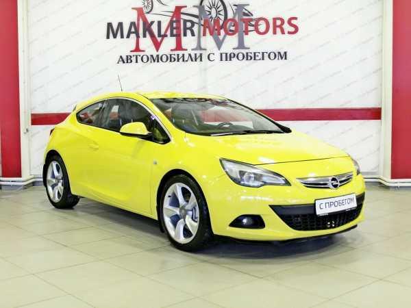 Opel Astra GTC, 2012 год, 544 000 руб.
