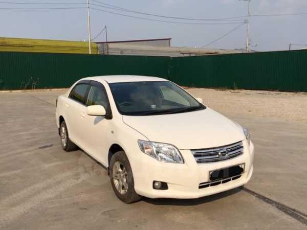 Toyota Corolla Axio, 2009 год, 535 000 руб.