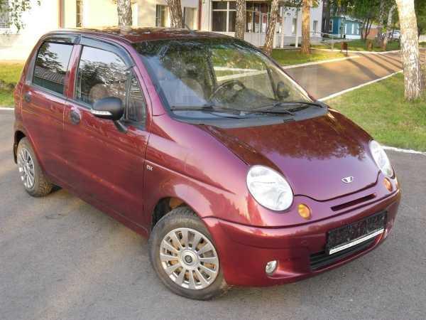 Daewoo Matiz, 2012 год, 183 000 руб.