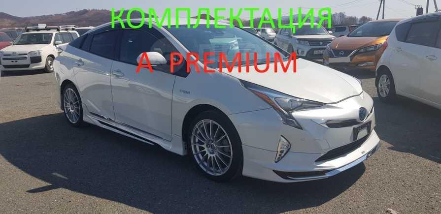 Toyota Prius, 2016 год, 1 255 000 руб.