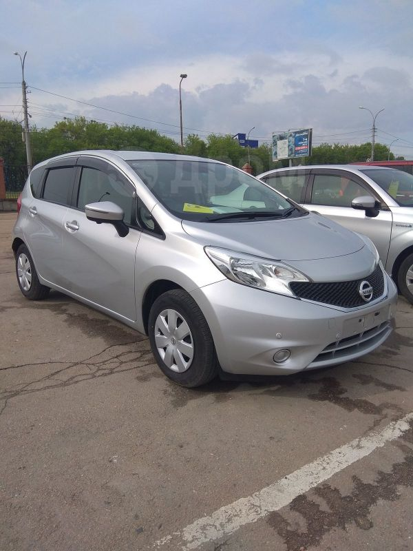 Nissan Note, 2016 год, 614 000 руб.