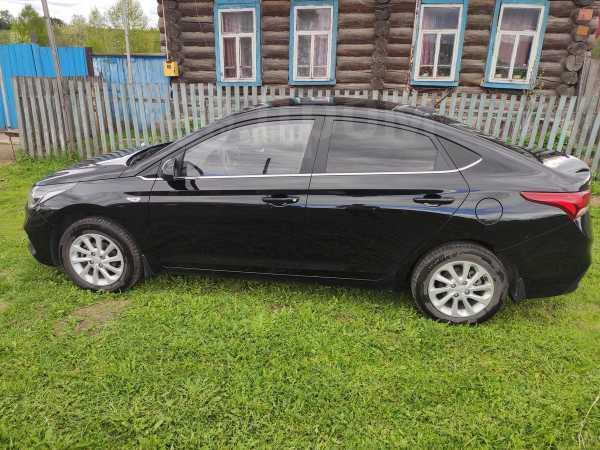 Hyundai Solaris, 2017 год, 745 000 руб.