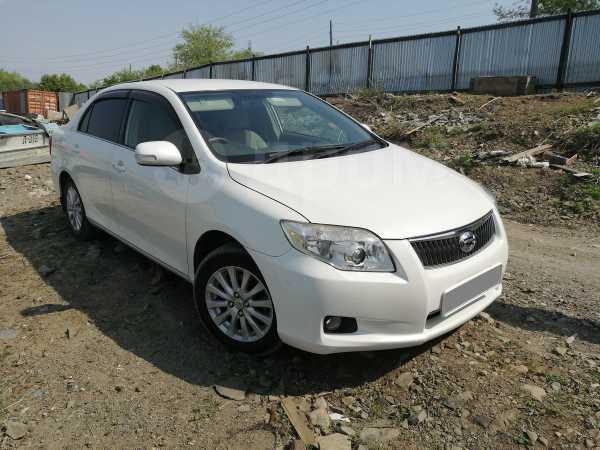 Toyota Corolla Axio, 2011 год, 670 000 руб.