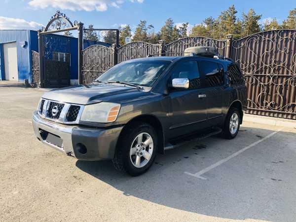 Nissan Armada, 2003 год, 680 000 руб.