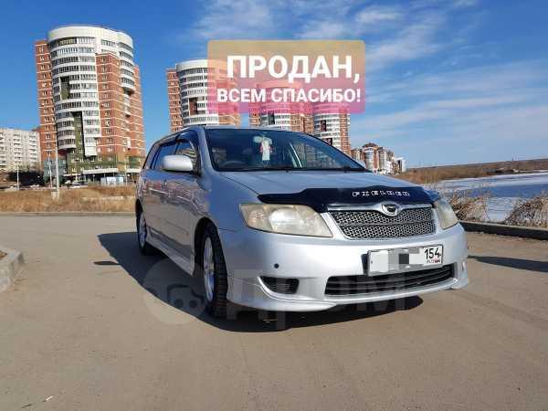 Toyota Corolla Fielder, 2004 год, 370 000 руб.