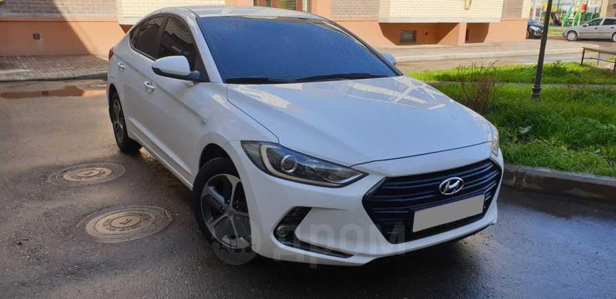 Hyundai Elantra, 2017 год, 850 000 руб.