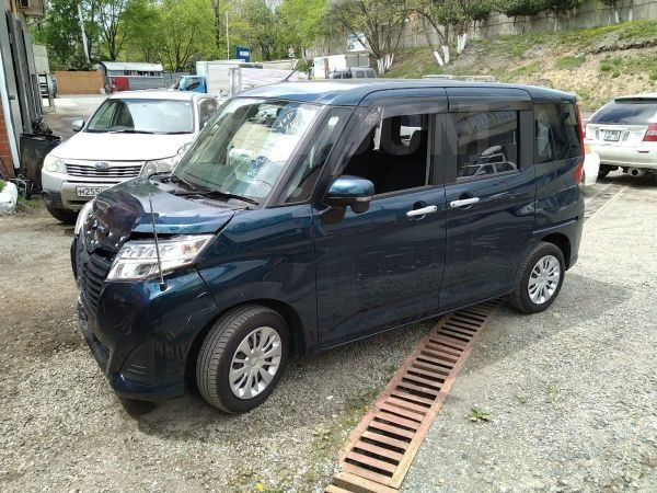 Toyota Roomy, 2017 год, 440 000 руб.