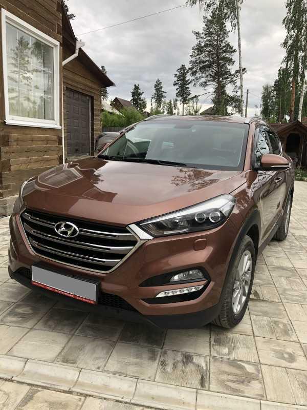 Hyundai Tucson, 2017 год, 1 560 000 руб.
