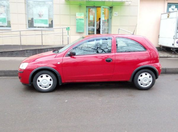 Opel Corsa, 2004 год, 200 000 руб.