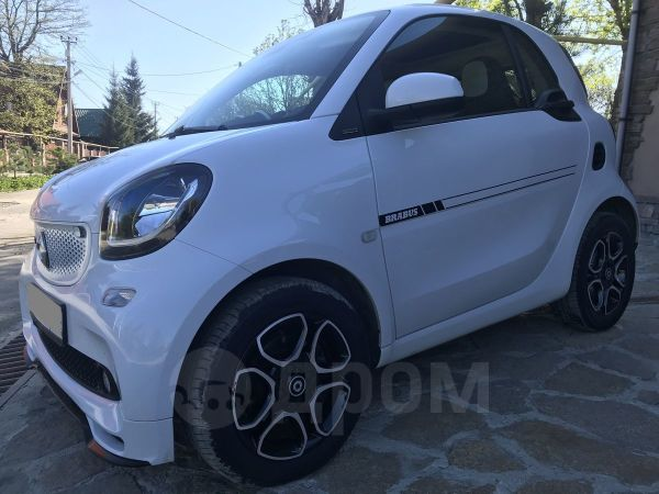 Smart Fortwo, 2018 год, 1 090 000 руб.