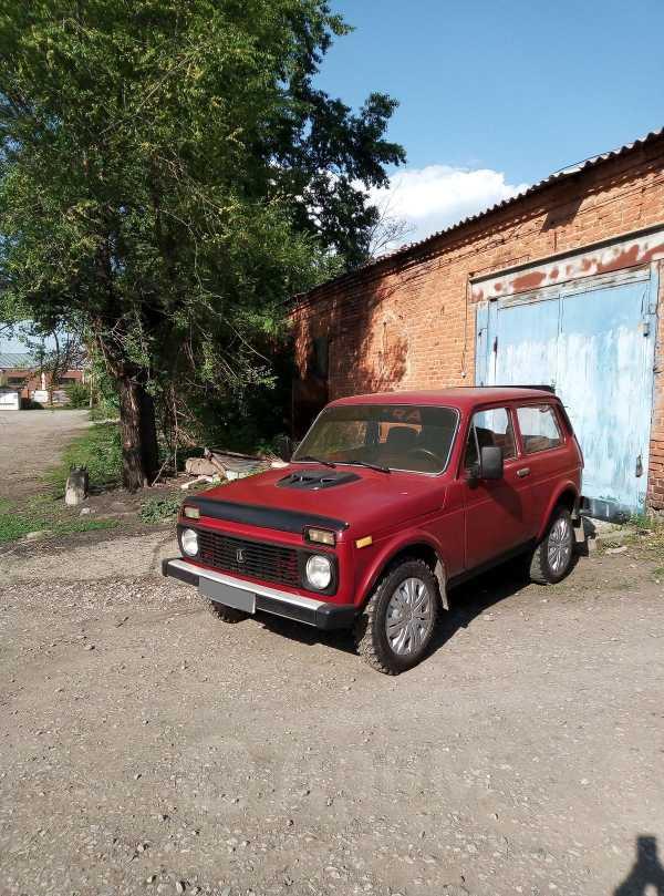 Лада 4x4 2121 Нива, 1990 год, 75 000 руб.