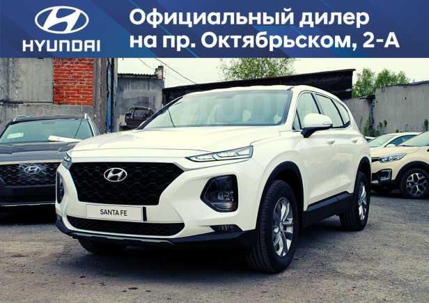 Hyundai Santa Fe, 2019 год, 2 189 000 руб.
