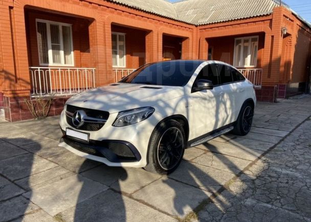 Mercedes-Benz GLE Coupe, 2016 год, 4 700 000 руб.