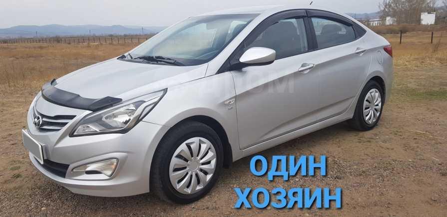 Hyundai Solaris, 2014 год, 595 000 руб.