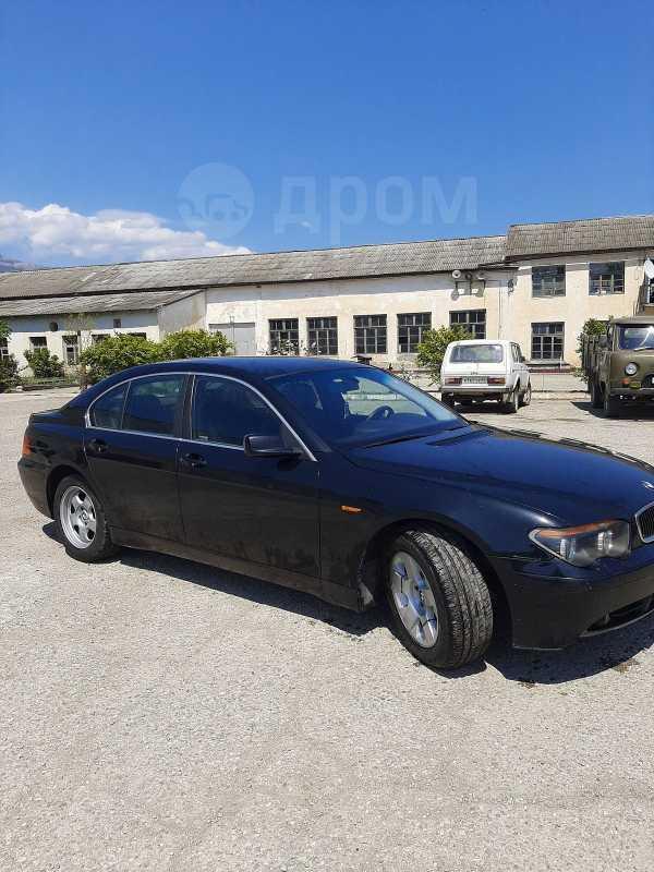 BMW 7-Series, 2001 год, 390 000 руб.