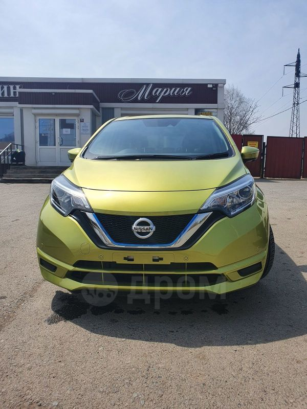 Nissan Note, 2018 год, 640 000 руб.