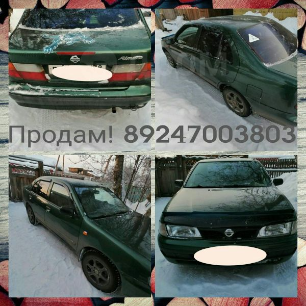 Nissan Almera, 1998 год, 100 000 руб.
