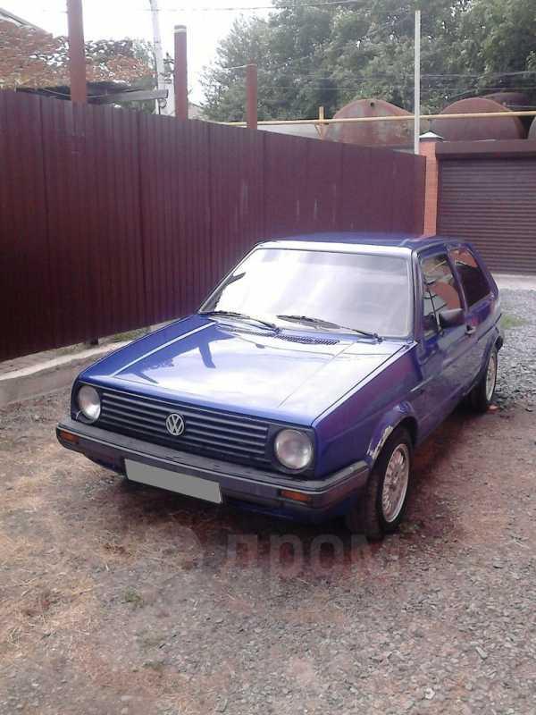 Volkswagen Golf, 1987 год, 55 000 руб.