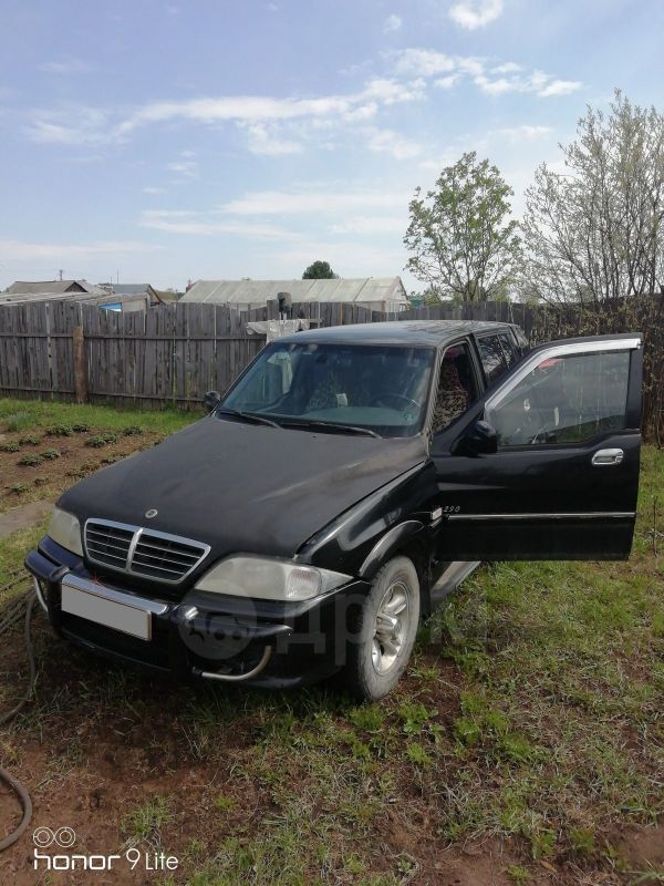 SsangYong Musso, 2003 год, 330 000 руб.