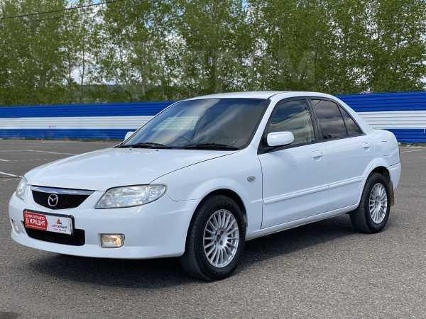Mazda Familia, 2002 год, 218 000 руб.