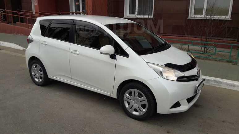 Toyota Ractis, 2013 год, 589 000 руб.