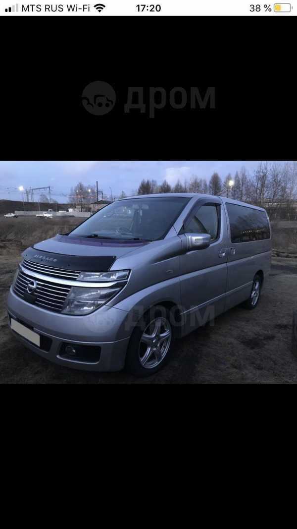 Nissan Elgrand, 2003 год, 550 000 руб.