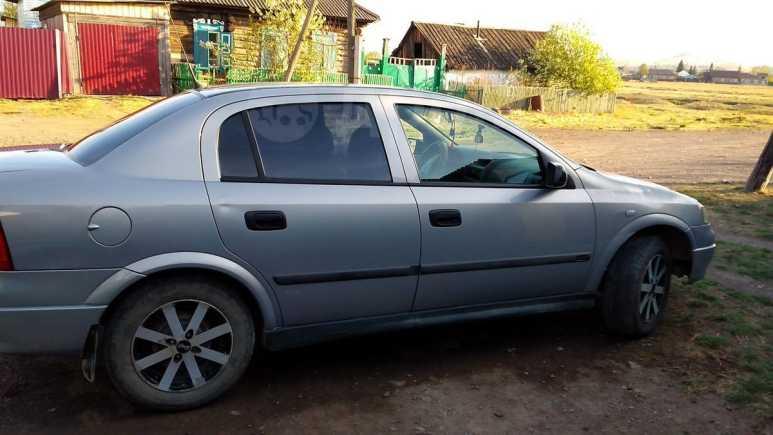 Opel Astra, 2002 год, 185 000 руб.