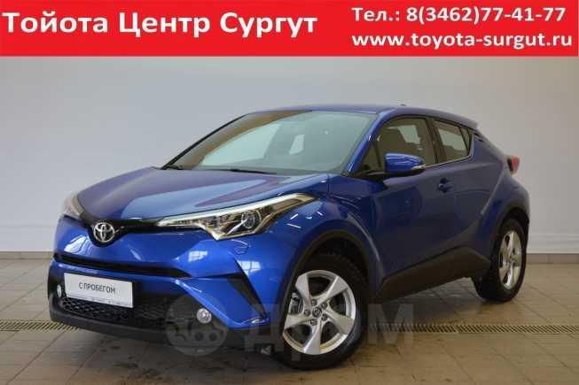 Toyota C-HR, 2018 год, 1 590 000 руб.