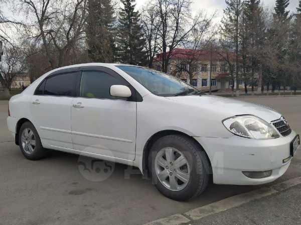 Toyota Corolla, 2002 год, 309 000 руб.