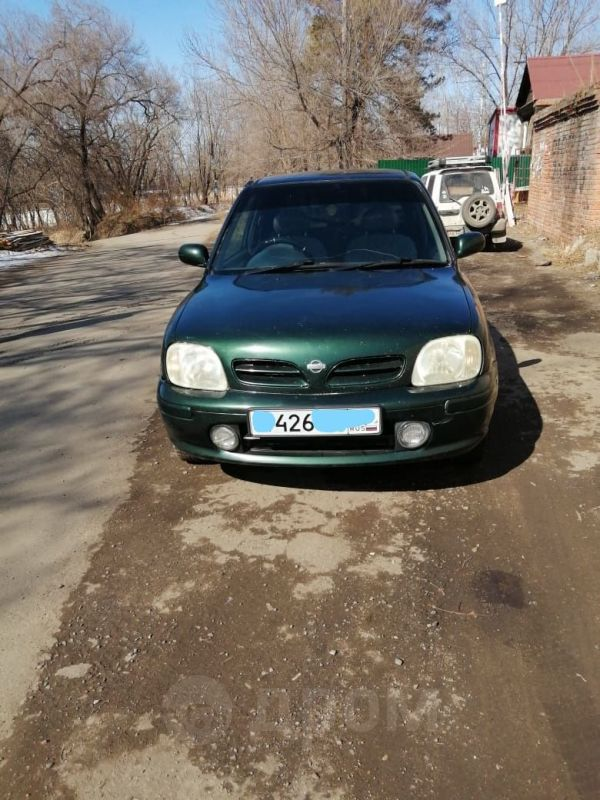 Nissan March, 1999 год, 85 000 руб.