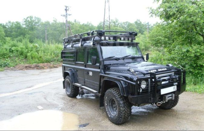 Land Rover Defender, 2008 год, 2 350 000 руб.
