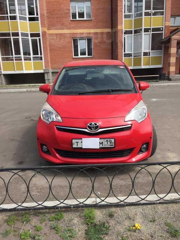 Toyota Ractis, 2013 год, 590 000 руб.