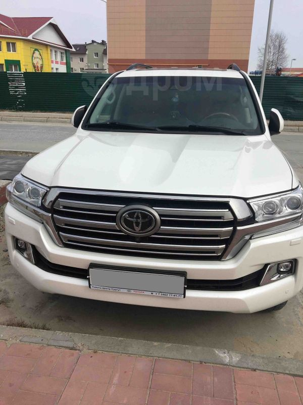 Toyota Land Cruiser, 2018 год, 4 697 000 руб.
