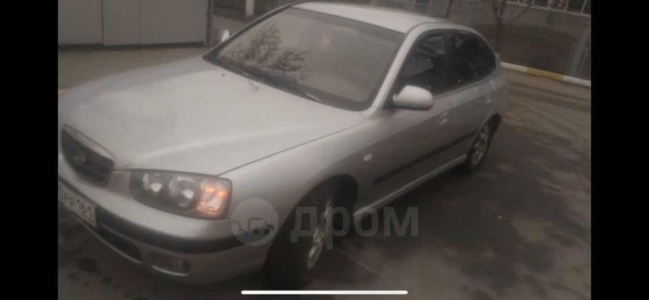 Hyundai Elantra, 2002 год, 170 000 руб.