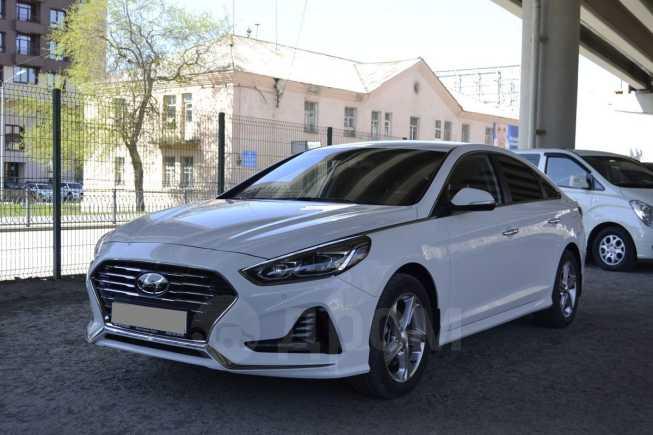 Hyundai Sonata, 2017 год, 1 240 000 руб.