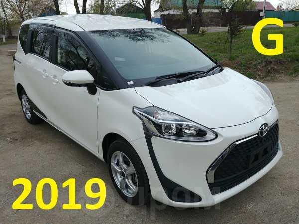 Toyota Sienta, 2019 год, 850 000 руб.