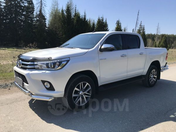 Toyota Hilux Pick Up, 2018 год, 2 340 000 руб.