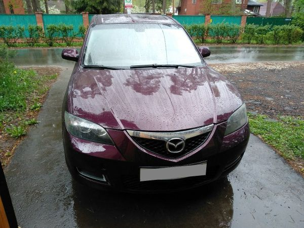 Mazda Mazda3, 2007 год, 300 000 руб.