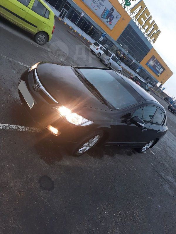 Honda Civic, 2008 год, 460 000 руб.