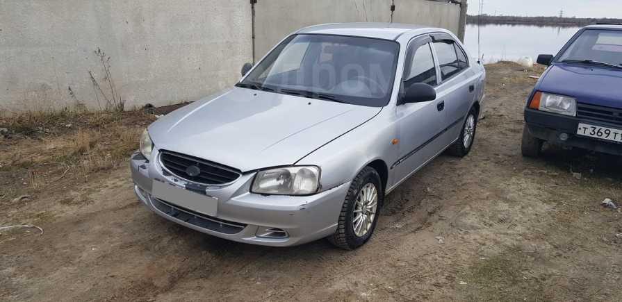 Hyundai Accent, 2004 год, 135 000 руб.