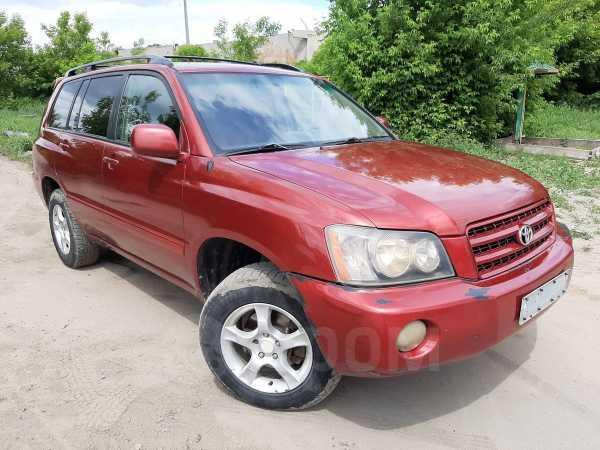 Toyota Highlander, 2001 год, 555 000 руб.