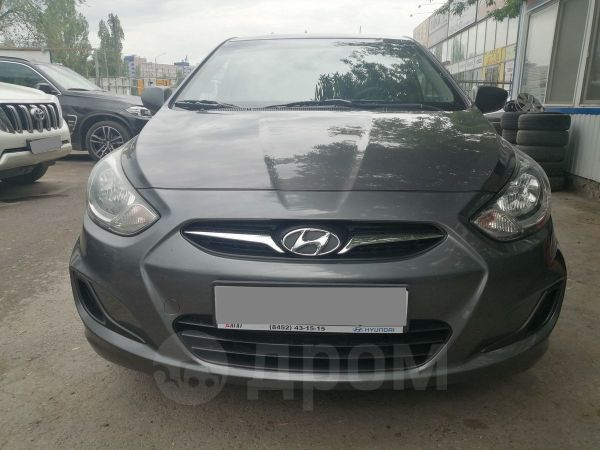 Hyundai Solaris, 2011 год, 489 000 руб.