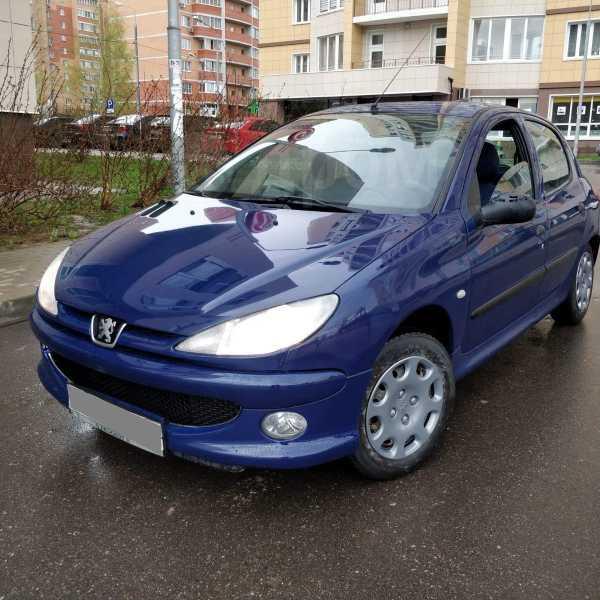 Peugeot 206, 2001 год, 110 000 руб.