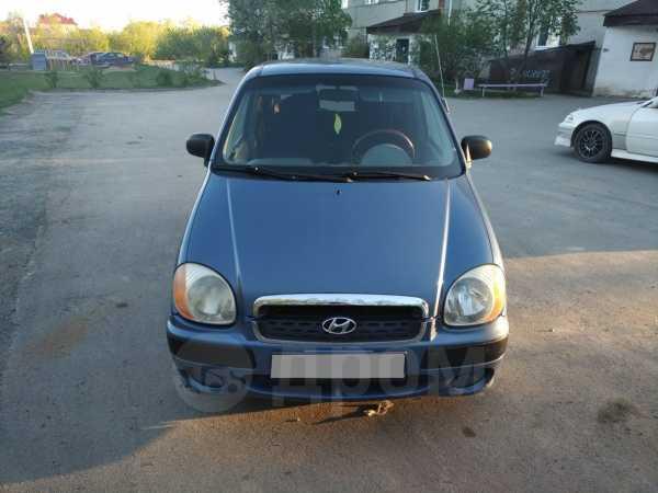 Hyundai Atos, 2002 год, 155 000 руб.