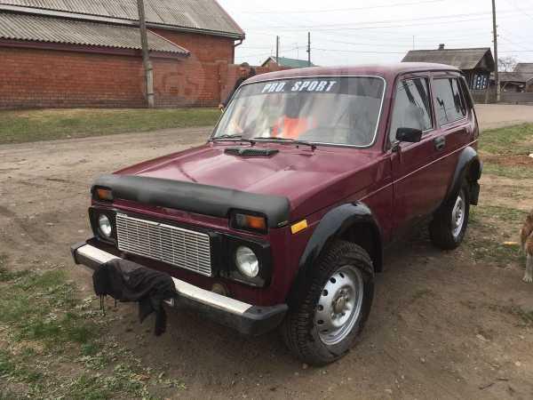 Лада 4x4 2121 Нива, 1997 год, 165 000 руб.