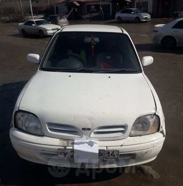 Nissan March, 2002 год, 130 000 руб.