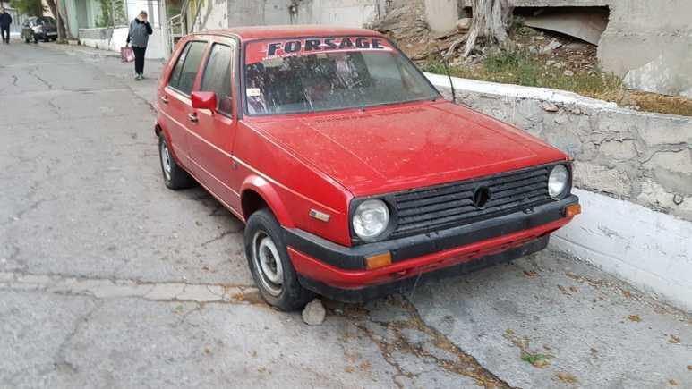 Volkswagen Golf, 1990 год, 37 000 руб.