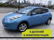 Владивосток Nissan Leaf 2011