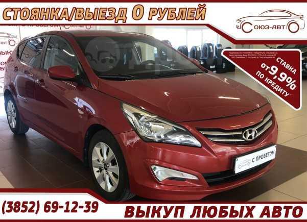 Hyundai Solaris, 2016 год, 589 000 руб.