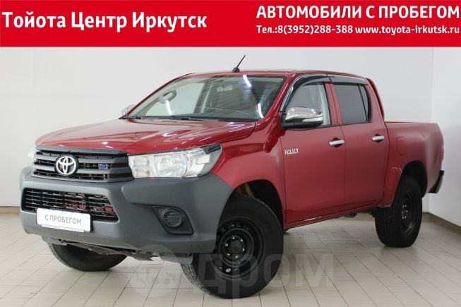 Toyota Hilux Pick Up, 2016 год, 1 250 000 руб.